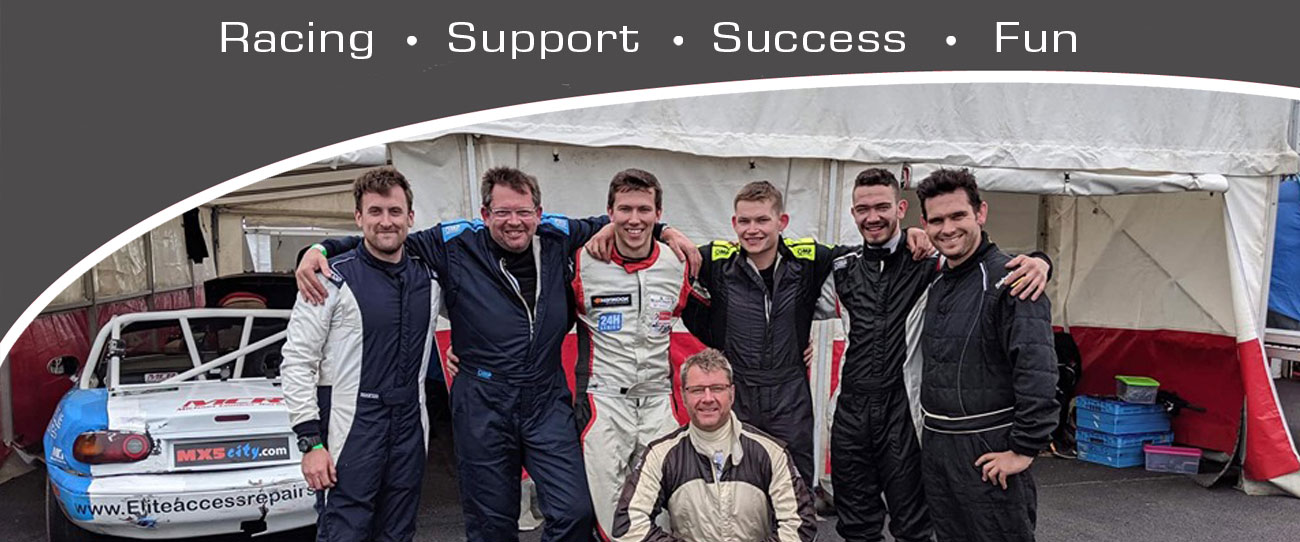 Michael Comber Racing Mazda Mx5 Mk1 Mk3 race drivers