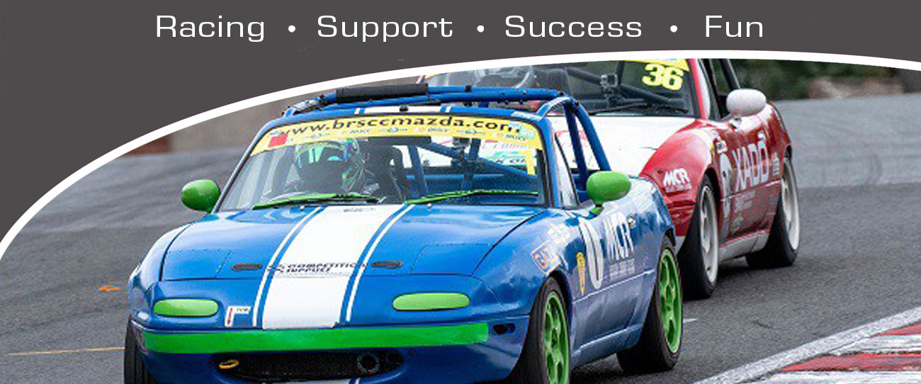 Michael Comber Racing Mazda Mx5 Mk1 race car driven by Will Blackwell Chambers