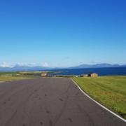 Michael Comber Racing Mazda Mx5 Mk1 Mk3 track walk at Anglesey