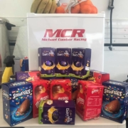 Michael Comber Racing Mazda Mx5 Mk1 Mk3 race team goodies for the drivers