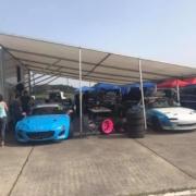 Michael Comber Racing Mazda Mx5 Mk1 Mk3 full race awning
