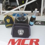 Michael Comber Racing Mazda Mx5 Mk1 race winning spoils