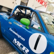 Michael Comber Racing Mazda Mx5 Mk1 championship winning race car Number 1
