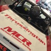 Michael Comber Racing Mazda Mx5 Mk1 race car Oulton Park