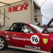Michael Comber Racing Mazda Mx5 Mk1 race car number 96