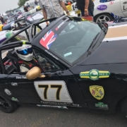Michael Comber Racing Mazda Mx5 Mk1 racer Steve Foden