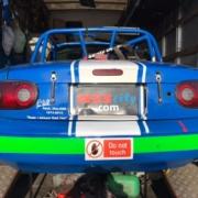 Michael Comber Racing Mazda Mx5 Mk1 championship winner race driver Will Blackwell Chambers car