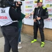 Michael Comber Racing Mazda Mx5 Mk1 race driver Charlie Mugglestone race winner