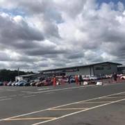 Michael Comber Racing Mazda Mx5 Mk1 race assembly at Donington Park