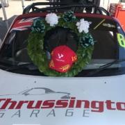 Michael Comber Racing Mazda Mx5 Mk1 race winner at Donington Park with 5Club