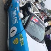Michael Comber Racing Mazda Mx5 Mk1 race driver Adam Bessell Oulton Park