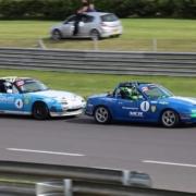 Michael Comber Racing Mazda Mx5 Mk1 Mk3 bump drafting surely not