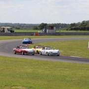 Michael Comber Racing Mazda Mx5 Mk1 Mk3 racing at Snetterton