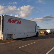 Michael Comber Racing Mazda Mx5 Mk1 Mk3 race car transporter
