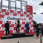 Michael Comber Racing Mazda Mx5 Mk1 race winner Dave Turton