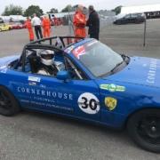 Michael Comber Racing Mazda Mx5 Mk1 race car number 30 Dave Turton