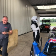 Michael Comber Racing Mazda Mx5 Mk1 race car post race weigh in
